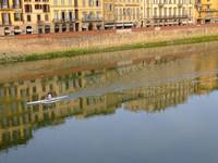 Rowers on the Arno, Florence