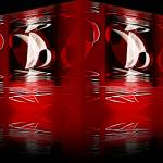 """""""Reflection In Red 2"""" by shanmaree"""