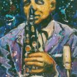 """Saxman II  ©1994 by Faye Cummings"" by artistfaye"