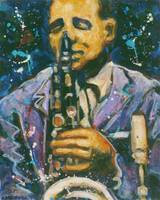 Saxman II  ©1994 by Faye Cummings