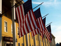 Congress Hall Flags