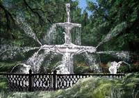 forsyth fountain landscape painting