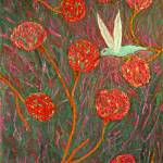 """Hummingbird Inspecting the Crops"" by MichaelKarasik"