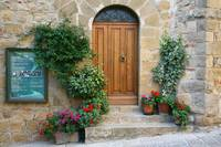 Stone Key Arched Door 2