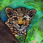 """Leopard Cub"" by ChrisCrowley"