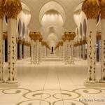 """""""Sheikh zayed Mosque Pillars"""" by Maneef"""