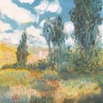 """""""L - Distant Village"""" by PaulGalante"""
