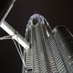 """Petronas Towers at night (Tower # 2)"" by JoeJimenez"