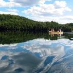"""Algonquin Park - Canoe"" by JoeJimenez"