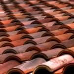 """Roof Tile Abstract"" by PaulGaitherPhotography"