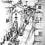 """Florence Street Scene"" by StudioEJ"