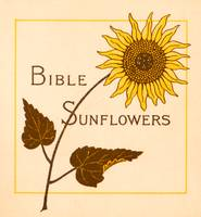 Bible Sunflowers, half-title page, book ca. 1890
