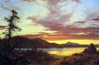 A Sunset by Frederick Edwin Church