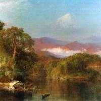 Chimborazo, Ecuador by Frederick Edwin Church Art Prints & Posters by ArtLoversOnline