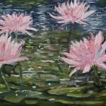"""Water Lillies"" by Nash-Wood"