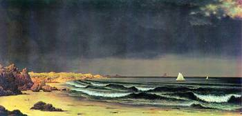 Emerging Storm, Narragansett Bay by Martin Johnson