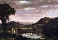 New England Landscape by Frederick Edwin Church