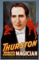 Thurston the Magician with Devils by WorldWide Archive