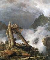 Storm in the Mountains by Frederick Edwin Church