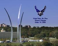 Air Force Memorail Dedication