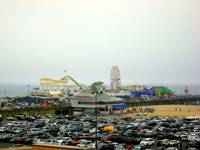 Santa Monica Pier from afar