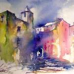 """""""vieux village / Old village in France"""" by geronimo"""