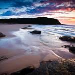 """Pretty Beach at dawn"" by ianwoolcock"