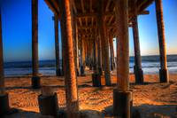 Under the Pier at Ventura, California