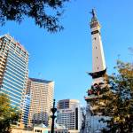"""Monument Circle #1"" by EmperorNorton47"
