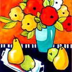 """Fruit & Flowers 1"" by CarrieLeeAllbritton"