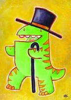 Top Hat Dino