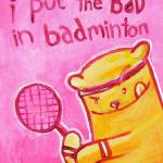 """Badminton"" by lollytots"