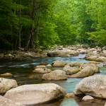 """Smooth Smokey Mountain Water"" by PicturelandUSA"