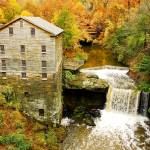 """Lantermans Mill in Fall"" by PicturelandUSA"