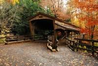 Lantermans Mill Bridge in Fall