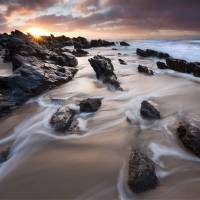 """Basham Beach Dawn"" by Dawsonimages"
