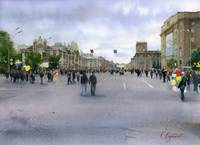 City day in Novosibirsk