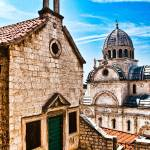 """The Cathedral of St. James in Sibenik (Croatia)"" by sergiubacioiu"