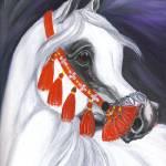 """Hadban Enzahi Stallion"" by EquineArtTreasures"