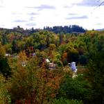 """Johnson, VT in autumn"" by PASpencer"