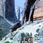 """Through the Pass by Henry Farny"" by ArtLoversOnline"