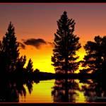 """""""Sunset Liatoppen September"""" by Odd"""