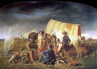 Advice on the Prairie (1853) by Willian Ranney