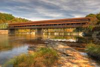 The Harpersfield Bridge Early Fall