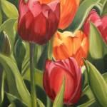 """""""Tulips Orange"""" by MaryThomas"""