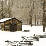 """Blacksmith Shop in Winter"" by PicturelandUSA"