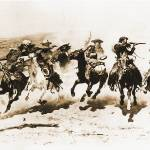 """A Dash for the Timber (1890) by Remington"" by ArtLoversOnline"