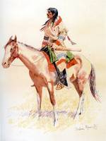 A North-west Half Breed (1901) by Remington
