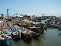Elmina fishing boats
