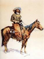 An Arizona Cowboy (1901) by Frederick Remington